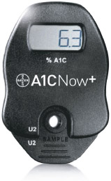 a1c blood test meter
